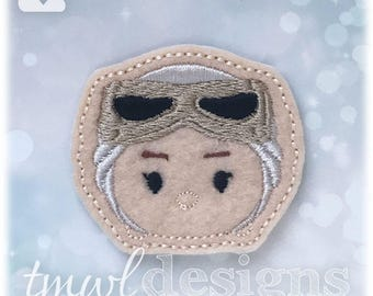 Rey Tsum Feltie Digital Design File - 1.75""