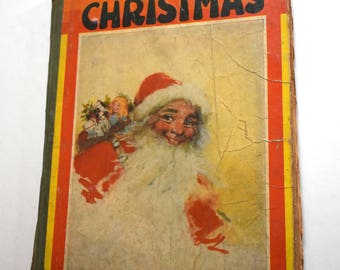 Vintage Book, The Night Before Christmas