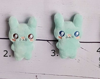 Small bunny pocket toy - plush bunny- for Easter- Softy- Cute bunny - Pocket bunny- Present - for kids