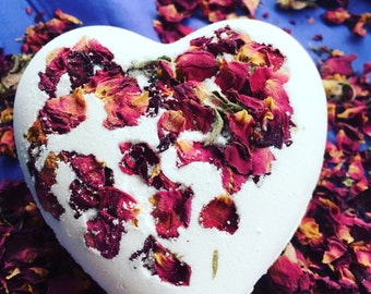 Natural Rose Bath Bomb