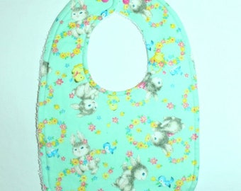 Easter Bunnies Toddler Bib