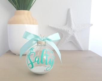 Beach Christmas Ornament, Nautical Christmas, Nautical Christmas