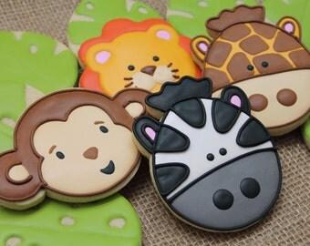 Safari Jungle Cookies