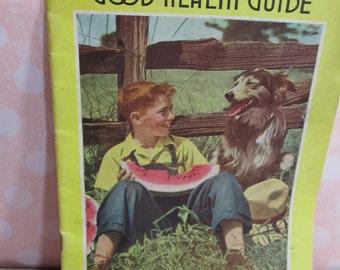 Rawleigh's 1953 health guide; Almanac Cookbook; Menu Suggestions; Illness Remedies; List of Rawleigh Products, retro catalog