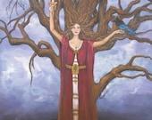 Art Print Dark Tree of Li...