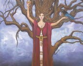 Dark Tree of Life Art Pri...
