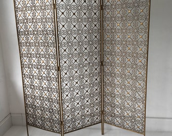 Ornate vintage room divider, screen