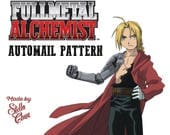 Edward Elric Automail Full Metal Alchemist Instructional Pattern for Cosplay