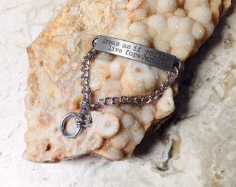 Live Forever ID Bracelet