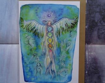 Transformations A5 Art Card