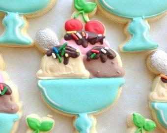 Ice Cream Sundae cookie cutter