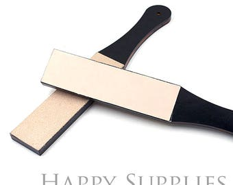 Double sided leather strop sharpening tool / Professional double-sided Leather knife/razor strop/Sharpening/polishing tool