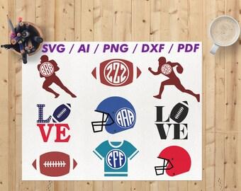 Football svg / Football cricut svg / Football dxf  / Svg footbal / Football clipart / Football clip art Football svg files Football fan svg