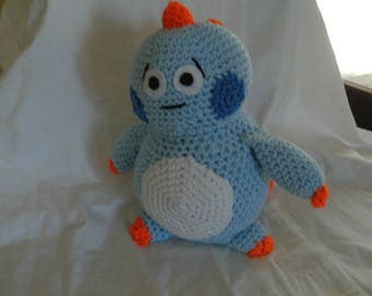 baby dino  handmade ,croched
