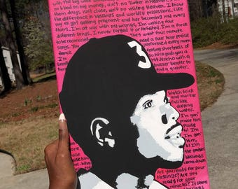 Chance The Rapper / Original Painting