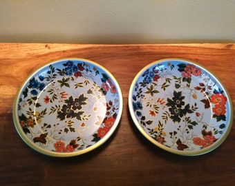 Vintage Daher Decorated Ware, Made in England Tin Plate