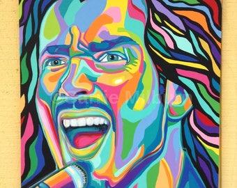 SOLD: Original Chris Cornell Painting, Acrylic 24x36