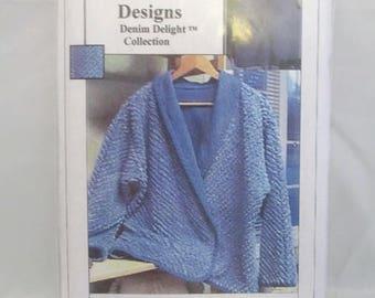 CASU Design 985 Reversible Shawl Collar Vest or Jacket UNCUT