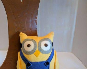 Minion Inspired Owl