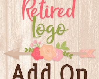 Retired Logo Add On