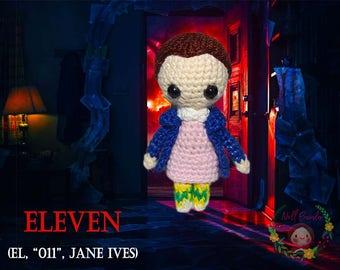 Eleven Doll - Stranger Things El, 011, Jane Ives Amigurumi