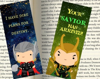 Thor and Loki Character Quotemarks