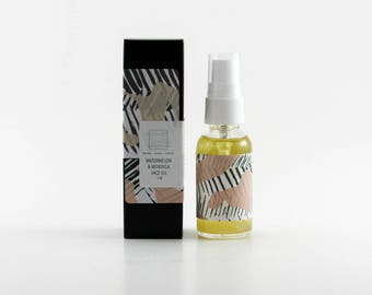 Watermelon & Moringa Face Oil Serum with Anti Aging Actives