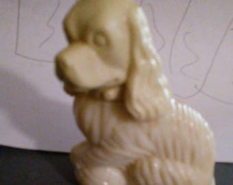 Avon Lady Spaniel, Avon Decanter, Held Moon Wind Cologne 1974 - 1976