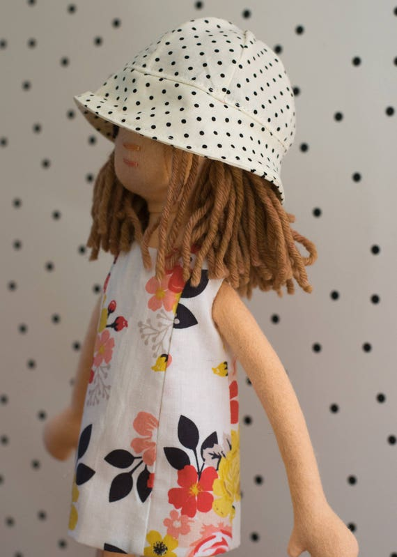 Small Doll with Summer Clothing Set including Bathing Suit