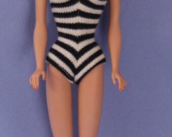 Vintage 1962 Bubble Cut Barbie Doll, Titian, EXC+