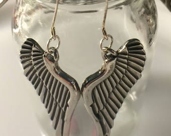 Angel or Devil Wings Earrings