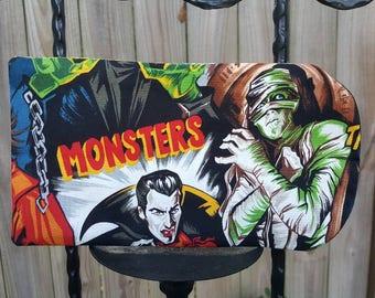 Classic movie monsters sunglass case