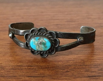 Baby Turquoise Cuff Bracelet Native American Jewelry