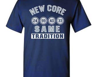 New York Yankee T-Shirts - New Core....Same Tradition - Aaron Judge T-Shirt