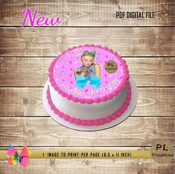 Jojo Siwa Cake Decorations