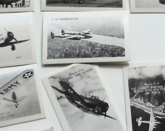 Photo Pack of 25 Vintage Images of Army Airplanes / Interesting Glossy Prints