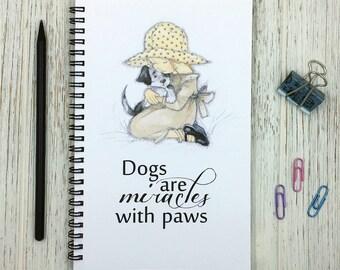 Dog Lover Journal, Notebook, Gift, Friend, Co-Worker,