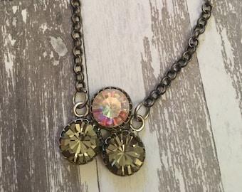 3 Stone Swarovski Bracelet