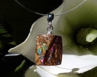 Australia Opal pendant - Natural Australian Opal pendant