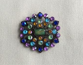 Vintage Diamante Pendant
