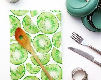 Summer kiwi fruit Pattern Kitchen Towel!