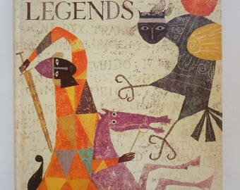The Golden Treasury of Myths and Legends illustrated by Alice and Martin Provensen a Giant Golden Book Deluxe Edition
