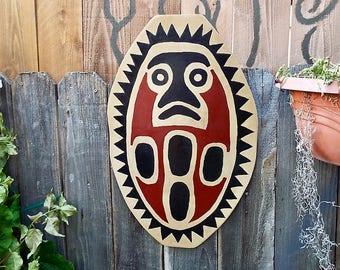 Disneyland Jungle Cruise Inspired hand painted Tribal Shield