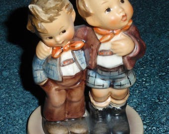 Max And Moritz Goebel Hummel Two Brothers Figurine #123 TMK 5 Cute Collectible Birthday Or Mother's Day Gift!