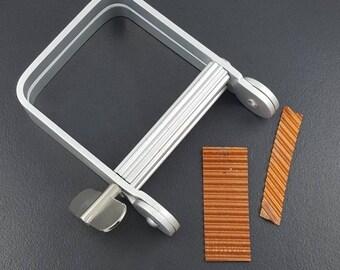 Tube Wringer, jewelry making tool, economy tube wringer, corrugating metal, metalsmith tool, ruffle making tool, metal corrugator, crimper