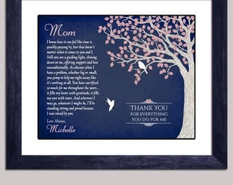 Mom Gift - Gift For Mom From Daughter - Mother Gift - Mom Personalized Gift - Mother Christmas Gift - Mom Birthday Gift - Mother Poem