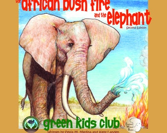 The African Bush Fire and the Elephant