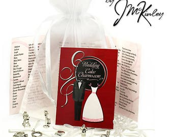 Sterling Silver Cake Charm Sets