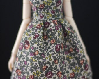 Pulli/Blythe no-sleeves liberty dress