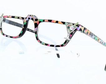 Reading Glasses with Martini, Women reading glasses, Painted
